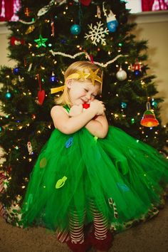 Atutudes Christmas Tree Tutu Dress. $49,95, via Etsy.