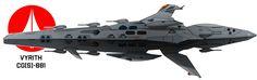 Stealth battlecruiser // MACROSS