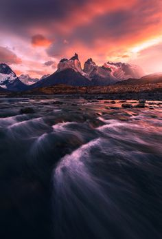 """te5seract: """"The Red River by Max Rive """""""