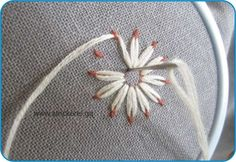 Awesome Most Popular Embroidery Patterns Ideas. Most Popular Embroidery Patterns Ideas. Silk Ribbon Embroidery, Hand Embroidery Designs, Floral Embroidery, Cross Stitch Embroidery, Embroidery Patterns, Machine Embroidery, Sewing Patterns, Embroidered Flowers, Bordado Tipo Chicken Scratch