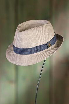 Beach Day Goorin Brothers Straw Fedora Hat