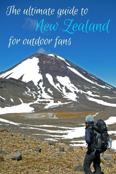 All you want to know about Tongariro National Park in New Zealand and hiking the famous Tongariro Alpine Crossing! Camping New Zealand, New Zealand Travel, Oh The Places You'll Go, Places To Visit, New Zealand Itinerary, Living In New Zealand, Road Trip, France, Adventure Is Out There