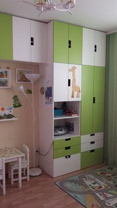 For the Bedroom Baby Nursery: Easy and Cozy Baby Room Ideas for Girl and Boy… – Colorful Baby Rooms Ikea Stuva, Ikea Kura Bed, Boys Bedroom Furniture, Girls Bedroom, Bedroom Decor, Baby Boy Room Decor, Girl Room, Teen Closet, Ideas Habitaciones