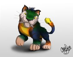 the croods tiger | deviantART: More Like The Croods - Tiger CHUNKY by ~Diego32Tiger