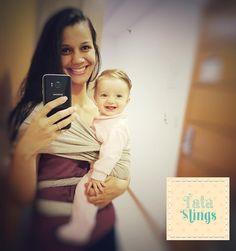 Alegria de começar um final de semana tendo um Tatá Sling para slingar por aí  Amei ;)