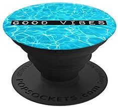 PopSockets Expanding Stand and Grip Smartphones Tablets Good Vibes for sale online Cell Phone Deals, Free Cell Phone, Cute Cases, Cute Phone Cases, Iphone 7, Iphone Cases, Popsocket Design, Cute Popsockets, Leather Cell Phone Cases