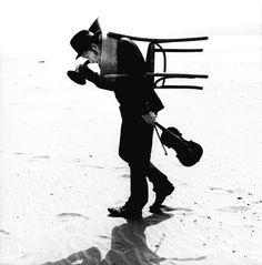 Tom Waits by Anton Corbijn, California, Dillon Beach, 2002