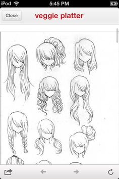 Manga hair!