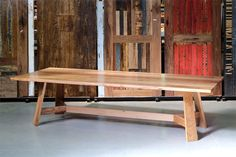 Recycled Timber Dining Tables & Timber Furniture Melbourne