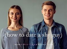 Many of us, it seems, like shy guys. (I like smart, nerdy, shy guys so  much, I married one.) It's not surprising: these men tend to be quiet  leaders — successful and widely respected. There is an art to dating  introverted men, though, and this article will help you decide if this  personality type is your best match. The good news is that you don't need  to be an introvert to date one. But to keep your romantic energy in  balance, you will want to follow some basic rules.  Many wo...
