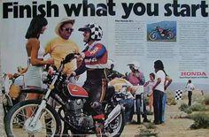 1973/74 Honda XL350 Ad