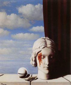 Magritte, La Memoire, René François Ghislain Magritte was a Belgian surrealist artist. Rene Magritte, Magritte Paintings, Photo Merci, Max Ernst, Art For Art Sake, Art Plastique, Surreal Art, Oeuvre D'art, Art History