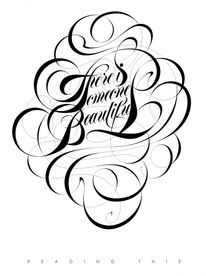 Creative Inspiration, Boris, Pelcer, Beautiful, and Reading image ideas & inspiration on Designspiration Typography Served, Typography Love, Creative Typography, Typographie Inspiration, Kindness Projects, Beautiful Lettering, Types Of Lettering, Lettering Design, Calligraphy Letters