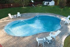 kidney shaped pool surrounds - Google Search