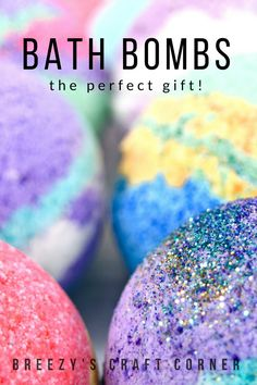Relax with our essential oil , sparking bath bombs!! Great for gifts of all kinds!! Check out Instagram breezyscraftcorner for demo videos!! Every bathbomb is handmade with essential oils that really smell amazing in a hot bath. Kids also love the bath bombs with the rainbow colors. Perfect size for stocking stuffers, never too early to think about the holidays. Also available in bulk for party's and gifts, feel free to contact me for additional info on bulk orders!!