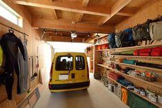Home Gym Garage, Garage House, Home Workshop, Garage Workshop, Diy Corner Shelf, Camping Room, Life Space, Garage Interior, Backyard Garden Design