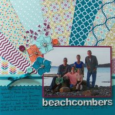 Sunburst backgrounds on cards and scrapbook layouts have been trending for the past few months and are a great way to use up some of those patterned paper scraps you have on hand. They also create a lot of texture and really make the background of a layout more than just an ordinary background. Sunburst backgrounds on cards and scrapbook layouts ha...