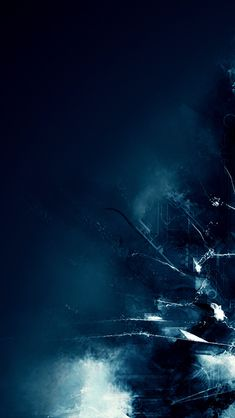 Dark blue abstract;  iPhone Wallpaper.