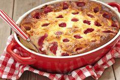 Hipergyors túrós-gyümölcsös bögrés süti - Csak összekevered a hozzávalókat