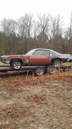 She is coming home! (71' Camaro) #Camaro #Chevrolet #Chevy #cars #musclecar #car