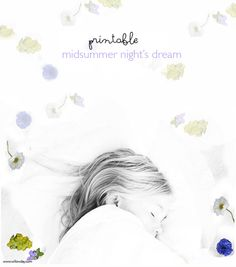 Printable Doodle Pages | doodle your midsummer night's dreams with  printable from willowday
