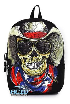 1f811f8c0b71 Mojo Cowboy Skull Backpack and other apparel, accessories and trends.  Browse and shop related looks.