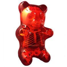 Anatomy Gummy Bear (Red) #InkedShop #InkedMag #Anatomy #Gummy #Bear #Red