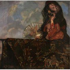 Ignacio Zuloaga - En el balcón