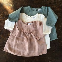 Tocoto Vintage Cotton Lace Baby Dress - Sea Green - 3-24m