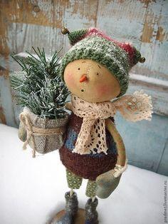 Merry Christmas everyone! Primitive Christmas, Country Christmas, Christmas Snowman, All Things Christmas, Winter Christmas, Vintage Christmas, Christmas Holidays, Christmas Decorations, Christmas Ornaments