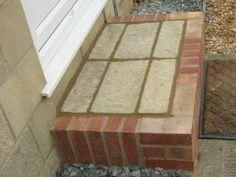 Front door step in brick and stone Decor, Door Steps, House, Brick And Stone, Front Door, Home Decor, Brick, Front Door Steps, Doors