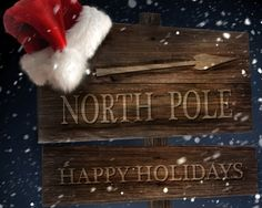 North Pole Ahead