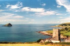 Wembury Beach~~The beach is well known for its surfing and rock pooling