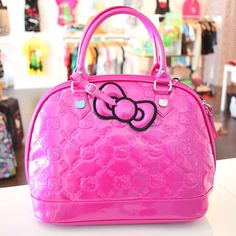 Hello kitty patent embossed tote bag Hello Kitty Bag 534ced6b7cae4