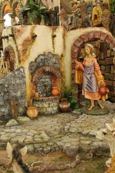 Nativity Scenes, Portal, Advent, Ss, Pretty, Painting, Diy And Crafts, Christmas Decor, Party