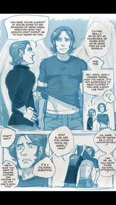 Gabe just needed an excuse supernatural pictures, supernatural funny, sam and gabriel, fan Supernatural Comic, Supernatural Drawings, Supernatural Pictures, Castiel, Sam And Gabriel, Fan Art, Super Natural, Sam Winchester, Superwholock