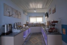 in a hotel in Sifnos island, we designed and produced a special breakfast room