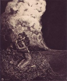 "Richard Teschner (1879, Bohemia—1948, Vienna)   From ""Album of Eight Original Etchings,"" 1914-1916,"