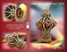 Eva Maria Keiser Designs: Decor:   Holiday Ornament     2014