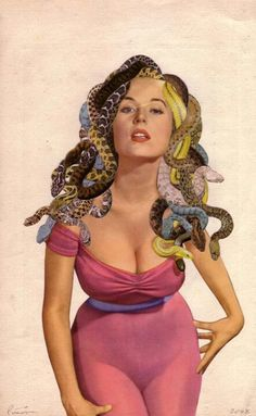 #hair #snake