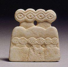 Eye Idol from Tel Brak