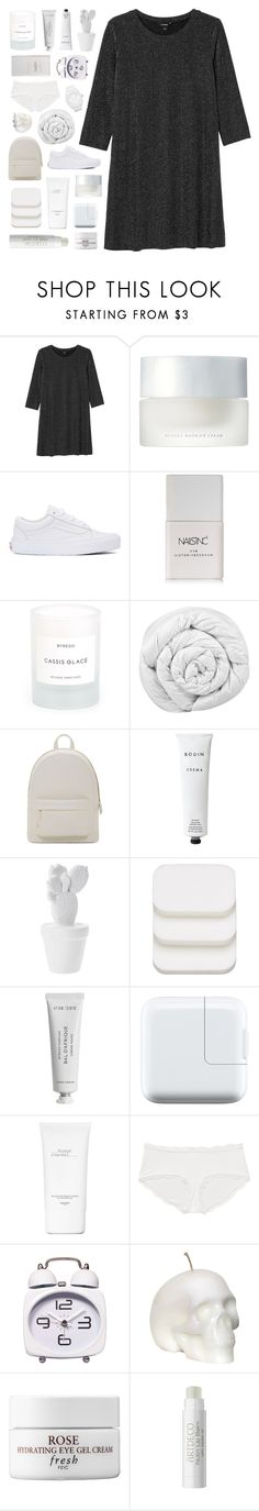"""""""so you can paint me in"""" by deep-breaths ❤ liked on Polyvore featuring Monki, SUQQU, Vans, Nails Inc., Byredo, Brinkhaus, PB 0110, Rodin Olio Lusso, COVERGIRL and Hermès"""