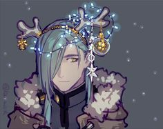 クリスマス青江