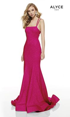 Alyce Paris - 60692 Cutout Strappy Back Glitter Jersey Mermaid Gown Strapless Prom Dresses, Prom Dresses Online, Mermaid Prom Dresses, Chiffon Dresses, Fall Dresses, Long Dresses, Formal Dresses, Sweet 16 Dresses, Sweet Dress