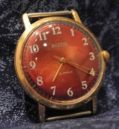 Soviet watch Russian watch Vostok gold от mensVintageWatches