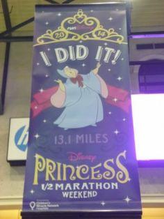 Disney Princess Half Marathon -- I did it!