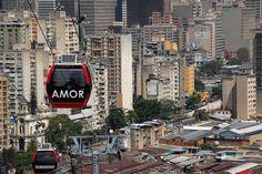 Aerial Gondola System. Medellin, Columbia. (2004-2010)