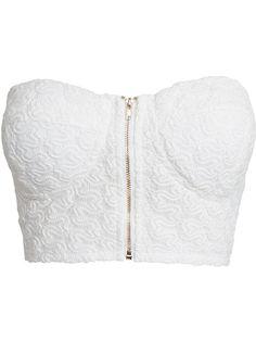Crochet Bralet - Nly Trend - White - Tops - Clothing - Women - Nelly.com Uk