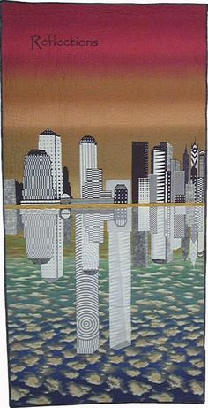 Sept 11th Quilt. We remember and honor the people on the planes, in the buildings, running out of the buildings, into the buildings, the kids who are growing up without parents, the wives and husbands who are missing their spouses. Everyone. http://www.september11quilts.org/kotter.html