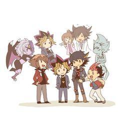 Somos únicos pero tenemos un fuerte lazo que nos une    ~ Yu-Gi-Oh  Series ~   <3